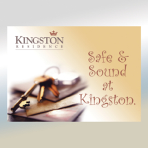 Kingston Residence Postcard