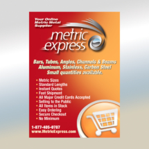 Metric Express Ad