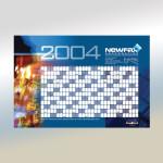 2004 NewFax Desk Calendar