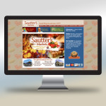 Sautter's Markets Website Design