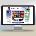 Shriners Village Web Design