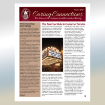 Caring Connections Newsletter