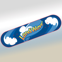 LandWave® Skateboard Deck Design