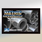 Parker Steel Metric Nickel Alloy Postcard