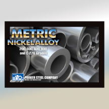 Parker Steel Metric Nickel Alloy Postcard