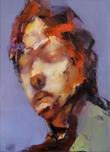 Paul Ruiz painting