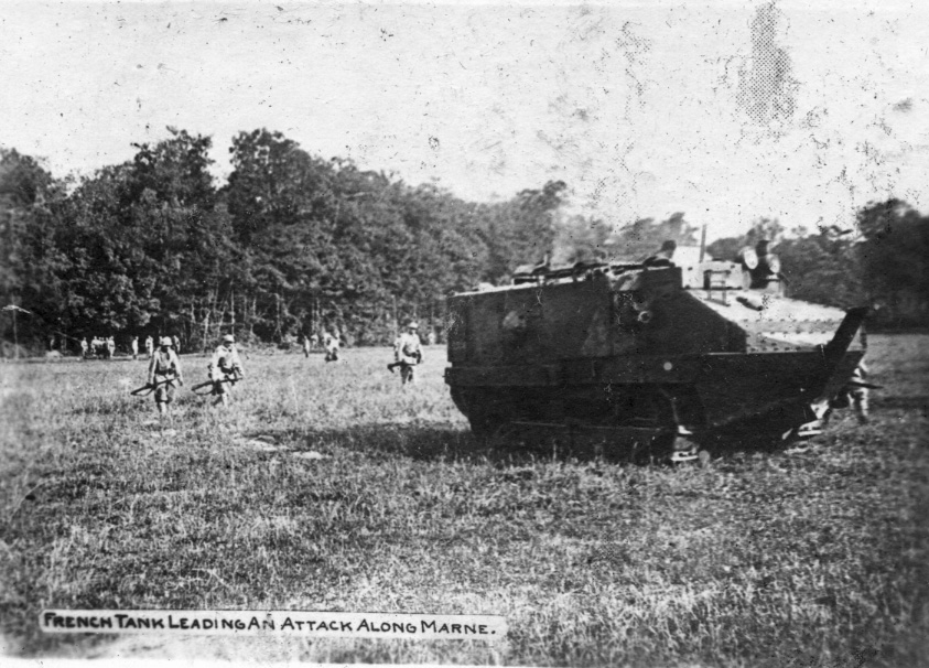 French Tank at the Marne