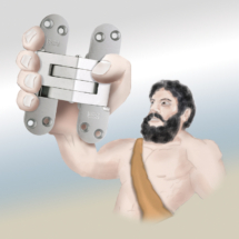 Hercules Hinge Illustration